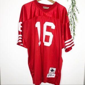 Castle Bay- Vtg 1989 Joe Montana #16 NFL Jersey